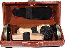 Jazooli Shoe Polish Kit Cleaning Shine Care Barrel
