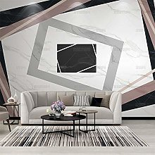Jazz White 3D Solid Marble Geometric Graphics