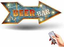 JazzMoon LED neon bar Signs for Home bar, Bright