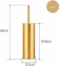 JBhzd golden black aluminum toilet brush holder