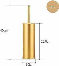 JBhzd golden black aluminum toilet brush holder