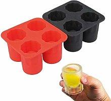 JBNS Durable Silicone Freeze Mold Wine Glass Shape