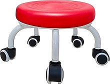 JBTM Round Bench Sofa Pedicure Seat, Leather