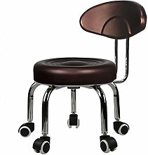 JBTM Wheel stool round bench sofa stool low stool