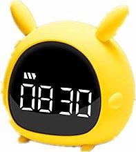 JBVG Simple Design Alarm Clock Mini Modern Desk