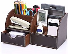 JBVG Stationery Storage Pen Holder Leather Pen