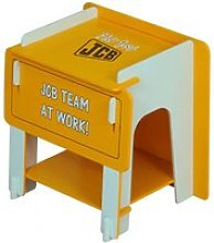 JCB Kids Bedside Cabinet In Yellow