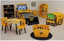 JCB Yellow Children's Digger Bed Frame - 3ft