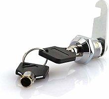 JCBIZ 16mm Thread Tubular Cam Lock Keyed Alike