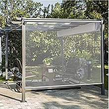 Jcnfa-Roller Blinds Shade Cloth Outdoor Pergola