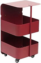 Jcnfa-side table 2-tier Cart/side Table, Removable