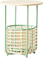 Jcnfa-side table Rattan Coffee Table,Small Storage