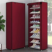 JCNHXD Multi Layers Shoe Rack Nonwoven Fabric Home