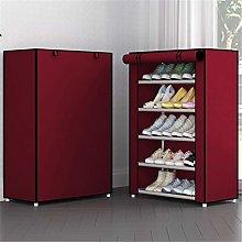 JCNHXD Simple Combination Shoe Cabinet Nonwoven