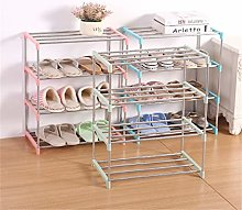 JCNHXD Simple Multi Layer Shoe Rack Stainless