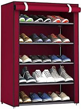 JCNHXD Stainless Steel Shoes Shelf Easy Assembled
