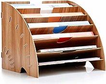 JCXOZ Wooden Desk Organiser Tray for Office