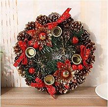 JCYANG Christmas Wreaths Christmas Advent Wreath