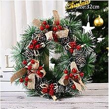 JCYANG Christmas Wreaths Christmas Garlands Xmsa
