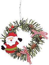 JCYANG Christmas Wreaths Christmas Pine Wreath