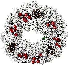 JCYANG Christmas Wreaths Christmas Wreath Berry