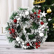 JCYANG Christmas Wreaths Christmas Wreaths for