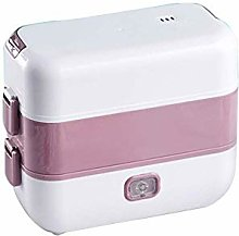 JDK Lunch Box,2 Layers 1.5L Portable Electric