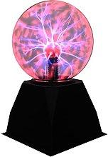 JDKC- Blue Plasma Ball Lamp Light, Plasma Globe