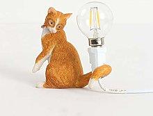 JDKC- Cat Table Lamp Cat Shaped Table Lamp