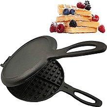 JDKC- Waffle Maker, Professional Cast Iron Waffle