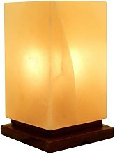 Jean Junction Himalayan Salt Lamp with Wooden Base