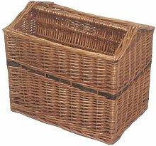Jeannette Magazine Rack Basket Brambly Cottage