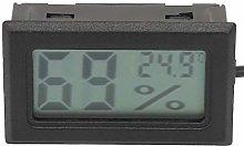 Jeanoko Digital Humidity Thermometer Mini