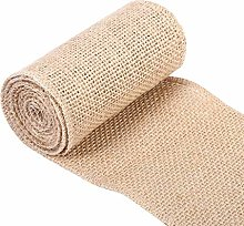 Jeanoko jute table runner Hessian Table Runner for