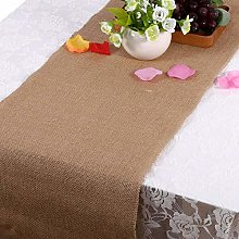 Jeanoko jute table runner Table Runner for home
