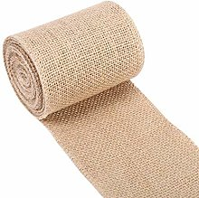 Jeanoko Party Table Runner Burlap Table Runner for