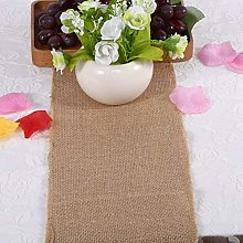 Jeanoko Party Table Runner jute table runner for