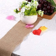 Jeanoko Table Runner jute table runner for table