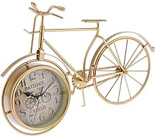 JeeKoudy Vintage Metal Bike Clock Home Decoration