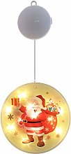 jeerbly Christmas Snowman Pattern Light Warm White