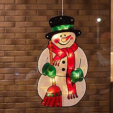 jeerbly LED Christmas Hanging Lights Lamps Xmas