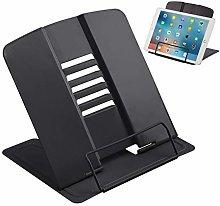 JEEZAO Metal Book Tablet Stand, Sturdy Recipe
