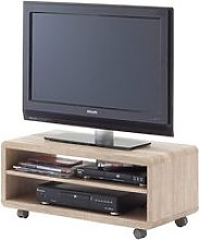 Jeff7 Lowboard LCD TV Stand In Rough Sawn Oak With