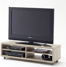 Jeff7XL Lowboard LCD TV Stand In Rough Sawn Oak