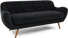 Jefferson 3 Seater Sofa Hykkon Upholstery: