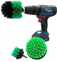 JenLn Drill Brush 3 Piece 2/3.5/4 Inch Electric