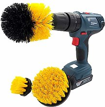 JenLn Drill Brush Attachment - Car Wash - Wheel