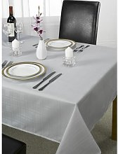 Jenny Tablecloth Marlow Home Co. Colour: Silver