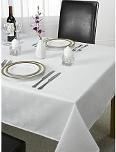 Jenny Tablecloth Marlow Home Co. Colour: White