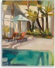 Jenny Westenhofer - 'Pool' Wood Framed